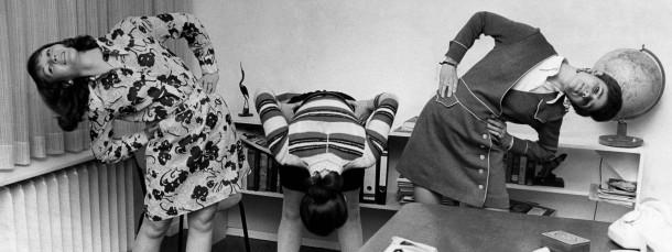 Von oben nach unten: Lebt der Abteilungsleiter den Sport vor, steigt die Bereitschaft der Mitarbeiter sich zusammen zu bewegen