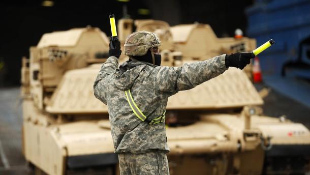 Amerikanischer Kongress will Truppenabzug aus Deutschland stoppen