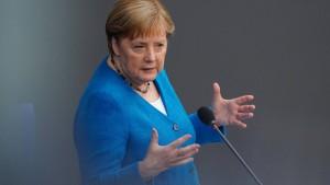 Merkel: Deutschland steht vor kräftigem Aufschwung