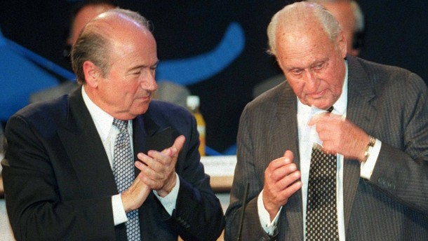 Fifa-Kongreß 1998: Blatter folgt auf Havelange
