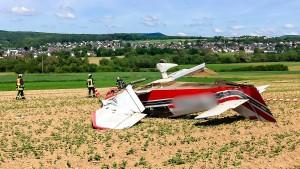 Piloten bemerkten Motorprobleme kurz nach Start