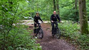 Wo der Förster mit dem E-Bike kommt
