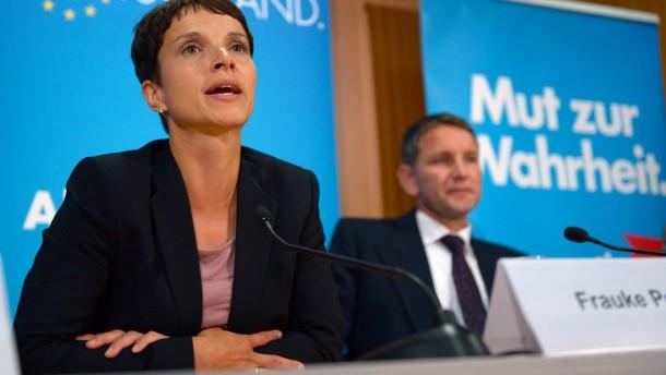 Höcke: Petry soll Marine Le Pen treffen