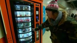 Ein Automat hilft Obdachlosen