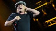 Immer noch der Neue : Brian Johnson, seit 1980 Sänger von AC/DC, wird Siebzig.