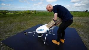 Drohnen liefern Medikamente in Irland