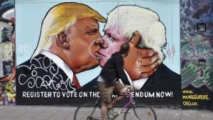 Boris Johnsons Warnung an Donald Trump