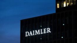 Kartellklagen gegen Daimler ausgeweitet