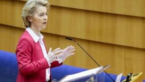 Von der Leyen prangert Egoismus der EU-Staaten an