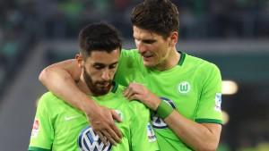 Wolfsburg mitten im Nervenspiel