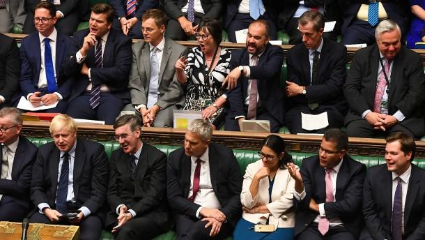 Johnson plant Brexit-Votum nach Marathondebatte