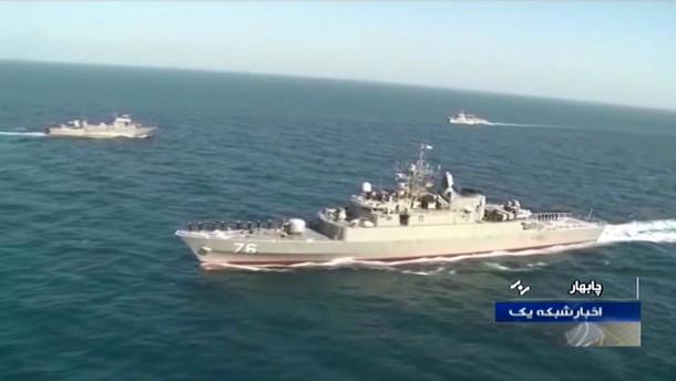 Iran beschießt eigenes Marineschiff