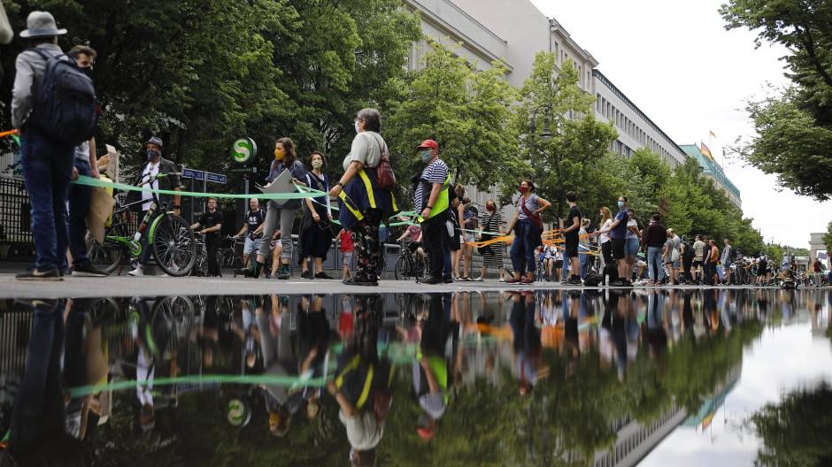 Band der Solidarität in Berlin