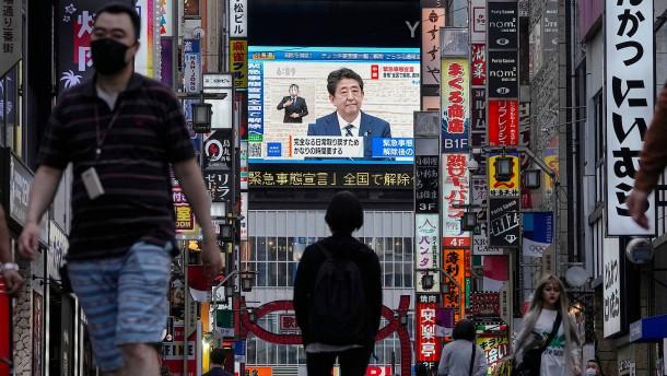 Japan verdoppelt seine Coronahilfen