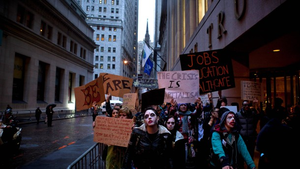 Die Besetzung der Wall Street