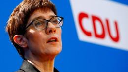 CDU-Vorsitz nicht nur Vehikel für Kanzlerschaft
