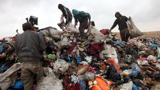 Wo selbst der Müll politisch ist