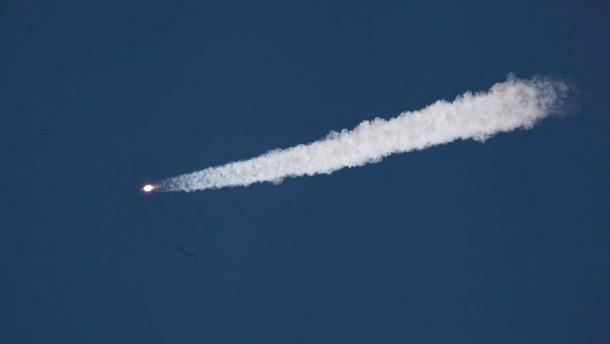 Raumtransporter verglüht über Pazifik