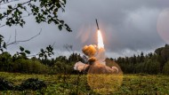 Start einer russischen Rakete