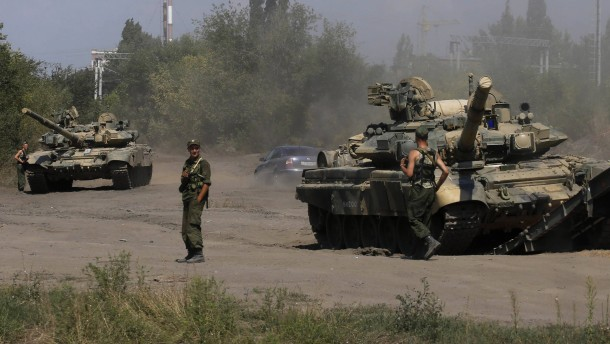 Nato: Über tausend russische Soldaten in der Ukraine