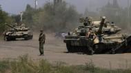 Kiew meldet russische Truppen in Ukraine