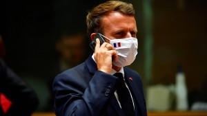 Wurde auch Emmanuel Macron belauscht?