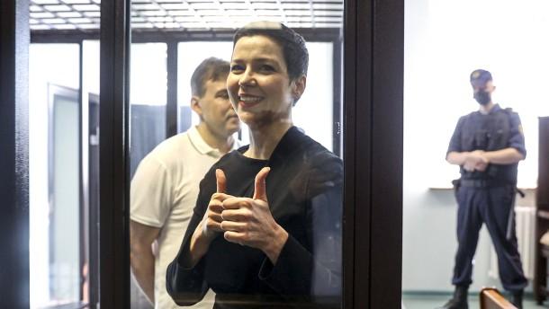 Die Frau, die in Belarus blieb