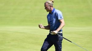 Golfprofi Siem weiter in der Spitzengruppe