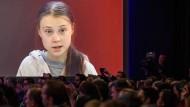 Greta Thunberg in Davos
