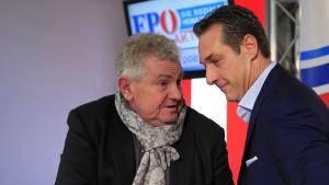 FPÖ lässt Spitzenkandidaten für Europawahl fallen