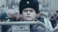 Russlands Regimeschützer sollen nicht nachdenken: ein Zögling der Moskauer Scholochow-Kadettenschule bei einem Einsatz
