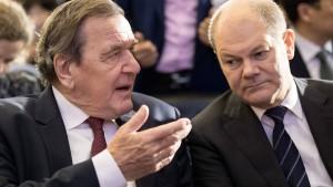 Altkanzler Schröder warnt seine Partei vor Rot-Rot-Grün