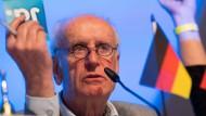 Verzichtet er auf seine Kandidatur? Albrecht Glaser