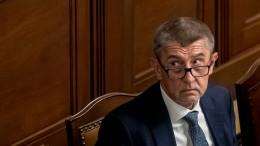 Regierungschef Babis übersteht Misstrauensvotum