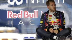 Formkrise bei Vettel