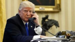 Trumps zwielichtiges Telefonat