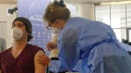 Ein Drittel ist mindestens einmal geimpft