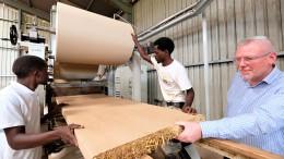 Ist ein altes Bauverfahren die Zukunft für Afrika?