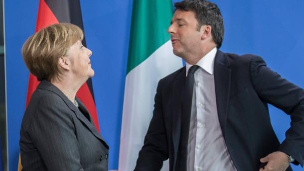 Italien gegen Deutschland