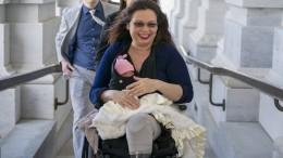 Das erste Baby im Senat