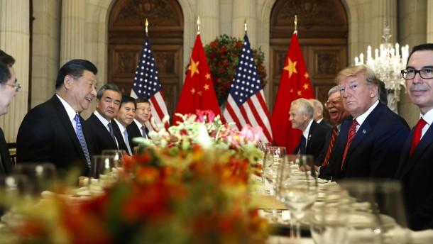 Amerika und China nähern sich an