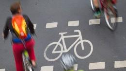 Radfahrer verursachen immer mehr Unfälle