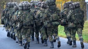 Bundeswehrsoldat nach Fußmarsch gestorben