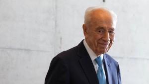 Bundesregierung würdigt Peres als Mann des Ausgleichs