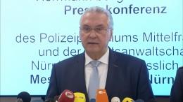 Herrmann dankt Nürnberger Polizei