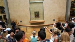 Mona Lisa im Stadion