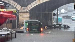 Extreme Unwetter auf Sizilien