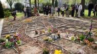"""Der """"Garten der Sternenkinder"""" in Berlin, ein Friedhof für still- und frühverstorbene Babys."""