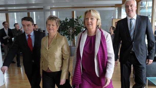 Groschek und Duin neue Kabinettsmitglieder