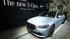Mercedes stellt Elektro-S-Klasse vor